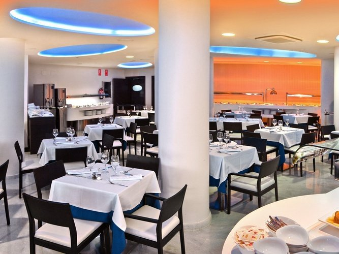 Restaurante villa del mar hotel benidorm