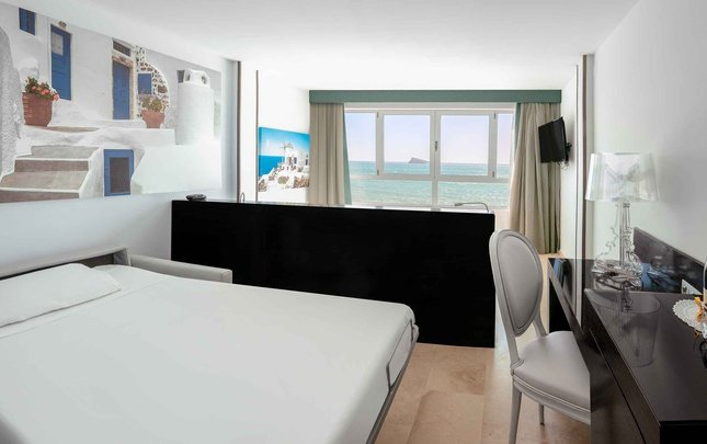 Supreme double sea view room villa del mar hotel benidorm